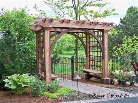 Rustic Patio Designs, Garden Arbors And Trellises Plans