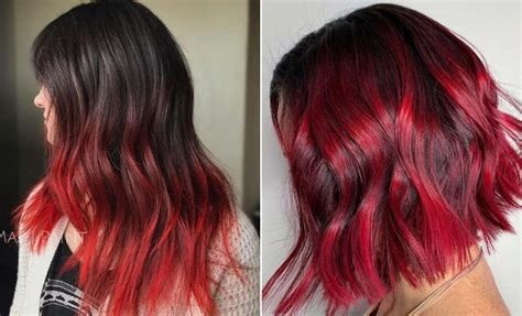 23 Red And Black Hair Color Ideas For Bold Women Stayglam
