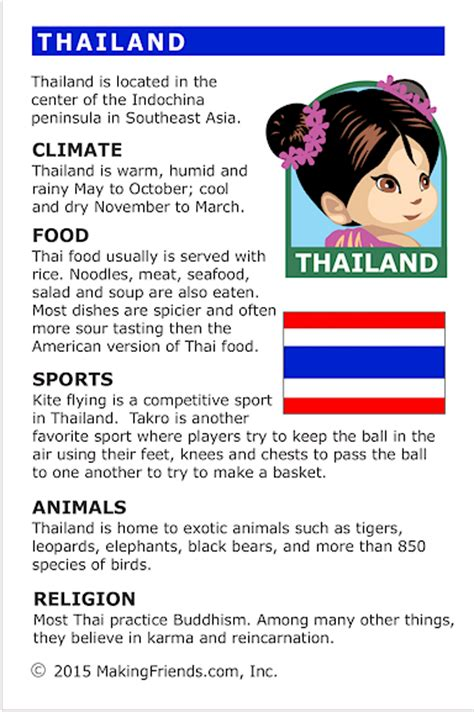 facts  thailand makingfriendsmakingfriends