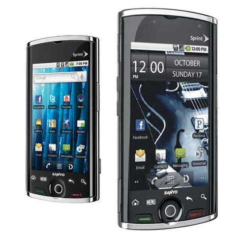 sanyo zio scp8600 sprint android phone for sprint new