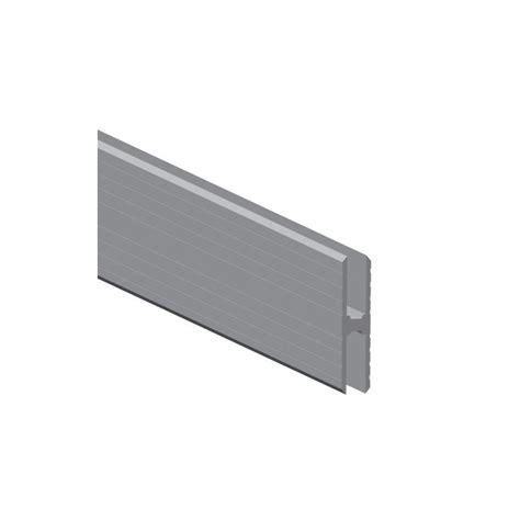 adam profil 233 aluminium en h heavy duty pour jonction de panneaux mat 233 riau 10 mm en vente