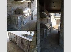 Rustic Outdoor Kitchen Design BeckAllen Cabinetry