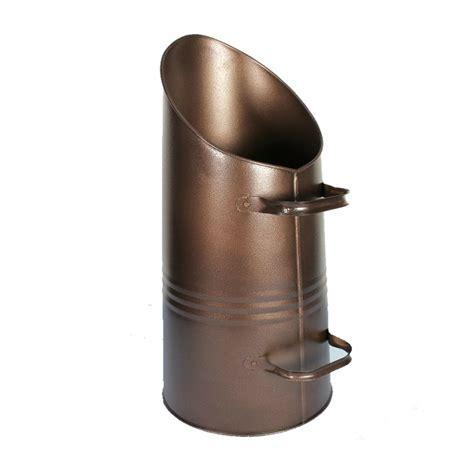 coal wood hod fireside scuttle storage bucket bronze black silver cm metal ebay