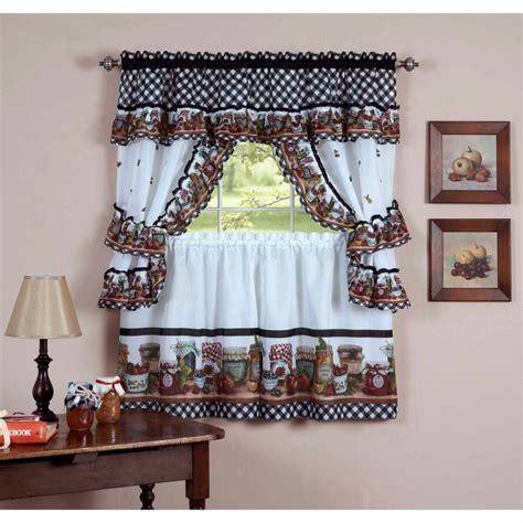 cafe style curtains walmart cortinas para la cocina para decorar vuestros interiores