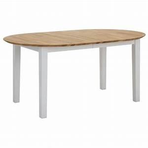 Table De Salle A Manger Ovale : rallonge guide d 39 achat ~ Teatrodelosmanantiales.com Idées de Décoration