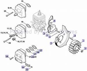 Stihl Backpack Blower Parts Diagram