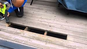 How To Replace Part Of A Deck Board