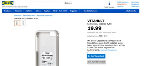 apple induktives laden qi induktives laden des iphones powered by ikea