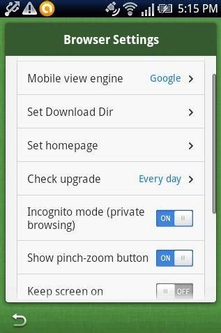 Boat Browser Night Mode by 5 Free Android Browsers Which Allow Private Browsing