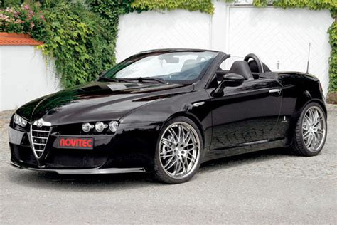 Alfa Romeo Spider By Novitec News