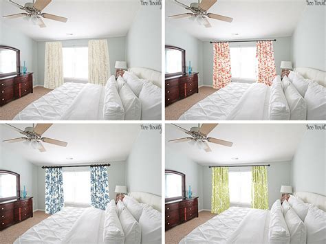 master bedroom curtain options