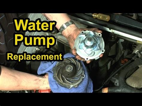 small engine repair training 1999 chevrolet venture spare parts catalogs water pump replacement chevy 34l v6 step by step instructions