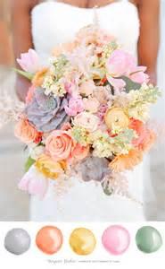 Spring Wedding Colors 2018