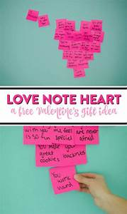 DIY Love Note Heart - A Little Craft In Your Day