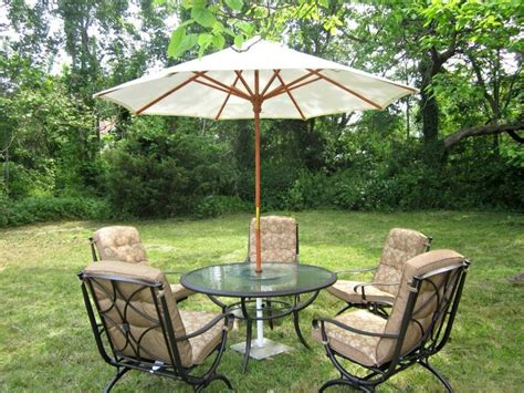 charming patio outdoor furniture design with beige
