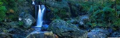 Waterfall Mountain Dual Monitor 4k