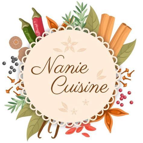 logo de cuisine nanie cuisine recettes créatives et découvertes gastronomiques