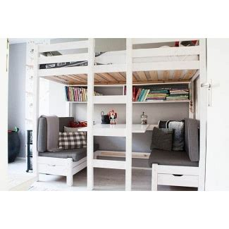 Bunk Beds With Couches Underneath by Bunk Bed With Table Underneath Ideas On Foter