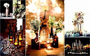 31 Beautiful Wine Bottles Centerpieces Perfect For Any Table
