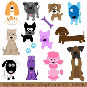 Dogs Clipart Clip Art, Puppy Clipart Clip Art - Commercial ...