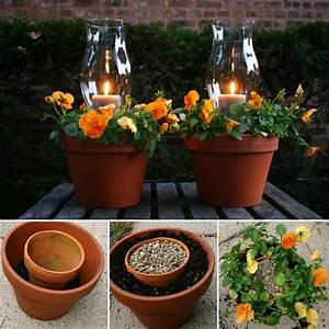 These, Terracotta, Candle, Planters, Are, Simply, Fabulous