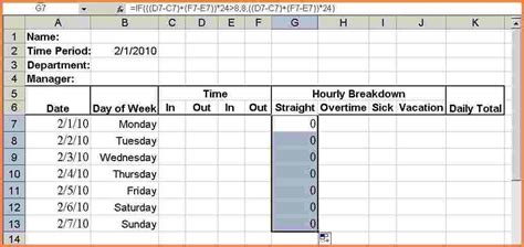 11 hours worked spreadsheet excel spreadsheets
