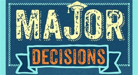 major decision plv pace university