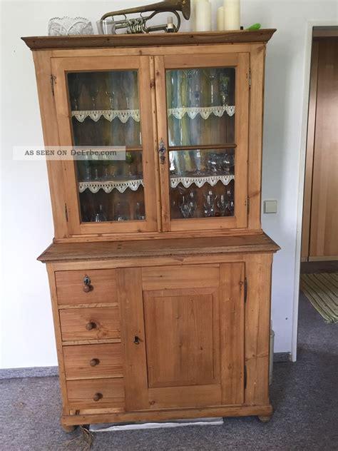 Buffetschrank Antik vitrinenschrank buffetschrank weichholzschrank antik