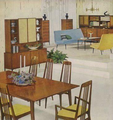 Retro Dining Room Furniture  1959 Heywood Wakefield