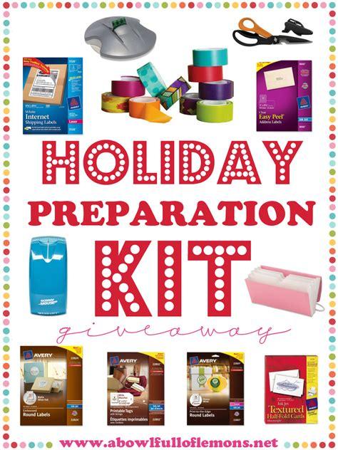 holiday preparation kit winner  bowl full  lemons