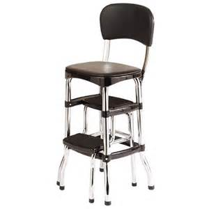 cosco retro chair with step stool black target