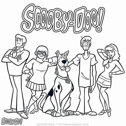 Scooby Doo Coloring Pages Printable Ready Sheets