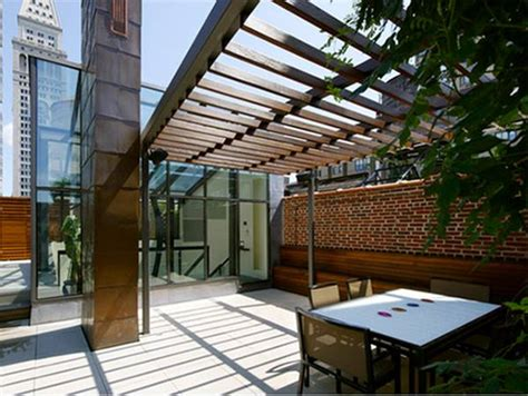 tips  minimalist terrace roof design  ideas