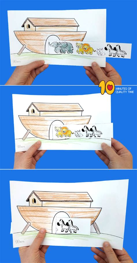 noahs ark animals    craft  minutes