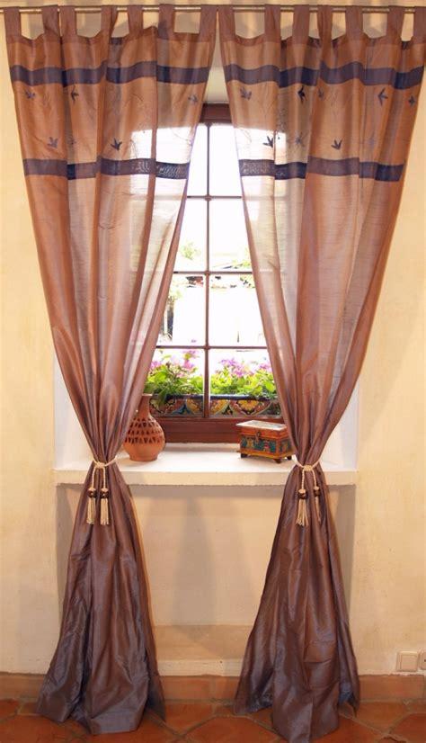 vorhänge blau grau vorhang gardine 1 paar vorh 228 nge gardinen blau grau 250x100 cm