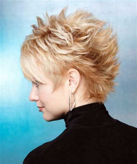 spiky short haircuts short hairstyles