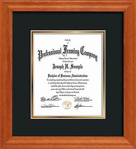 custom diploma frames certificate frames custom oak With custom document frames