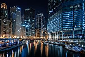 Strolling along the Chicago River - Another Angle  Chicago