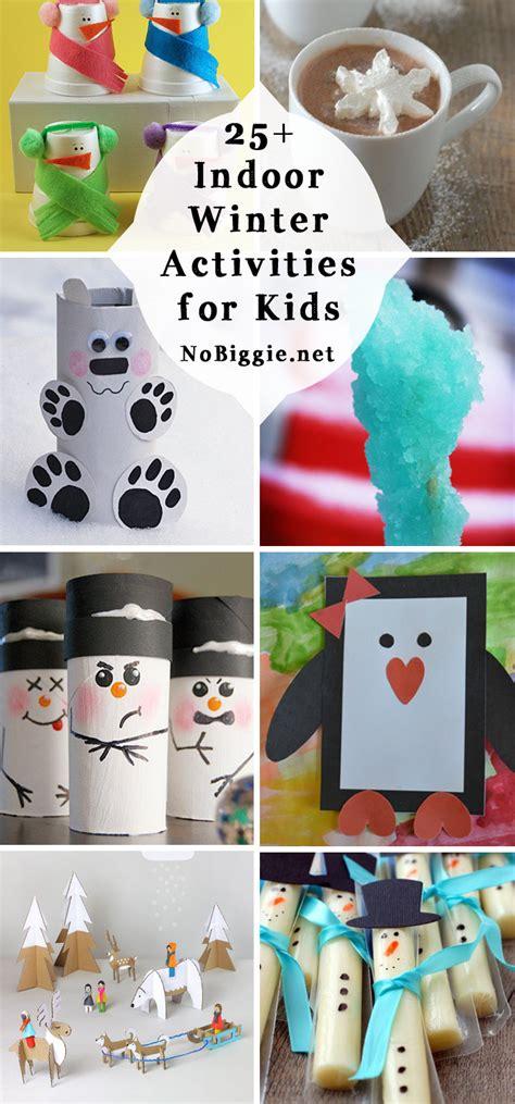 indoor winter activities  kids