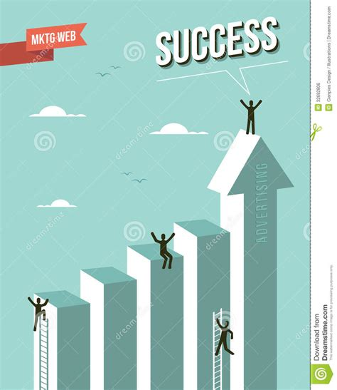marketing and advertising web marketing advertising success concept royalty free