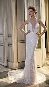 berta fall 2016 wedding dresses bridal photo shoot With geometric wedding dress
