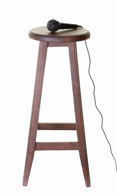 Stool Microphone Comedy Stand Mic Night Istock