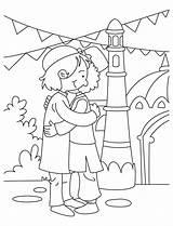 Eid Coloring Ramadan Adha Mubarak Happy Colouring Idul Muslim Ul Holiday Cartoon Cendawan Printable Resepi Familyholiday Guide Milan Drawing Sheets sketch template