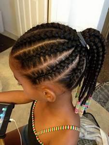 Coiffure Enfant Tresse : coiffure tresse africaine enfant ~ Melissatoandfro.com Idées de Décoration