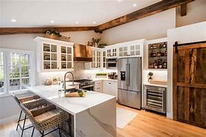 12, Rustic, Distressed, White, Kitchen, Cabinets, Background