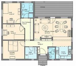 Geno livingstar 2 bungalow grundriss haus grundriss for Grundrisse für bungalows
