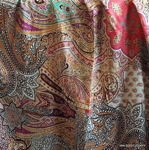 Paisley Muster Stoff : exklusiver stoff als paisley auf 100 viskose feincr pe ~ Watch28wear.com Haus und Dekorationen