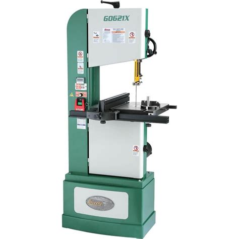 grizzly industrial vertical woodmetal bandsaw