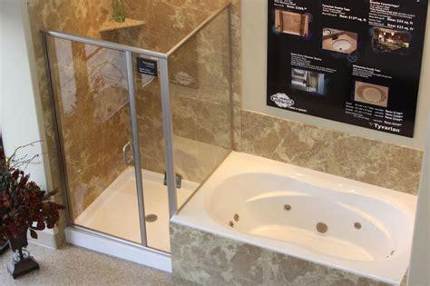 garden tub  shower combo shower bases