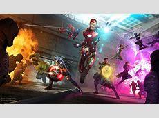 Avengers Infinity War 2018 Artwork, HD Superheroes, 4k